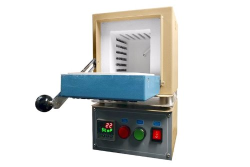 "1100°C Compact Muffle Furnace (4x4x4"",1.0L) with Programmable Controller -- KSL-1100X-S-ULKSL-1100X-S-UL-110VKSL-1100X-S--UL-220V"