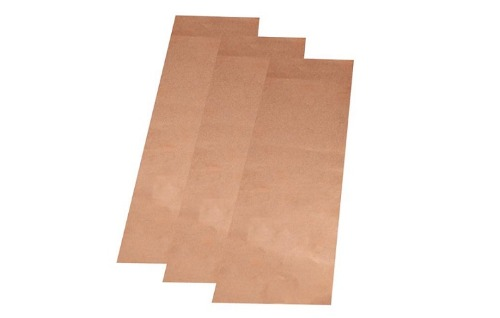 3 Pcs Copper Foam Sheet (Porous Cu) for Battery or Supercapacitor Anode Substrate (300mm length x 80mm width x 0.08mm thickness) - EQ-bccf-80um