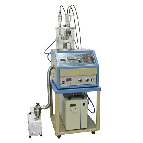 "3 Heads Compact 1"" RF Plasma Magnetron Sputtering Coater, with DC Magnetron Sputtering Option - VTC-3RF"