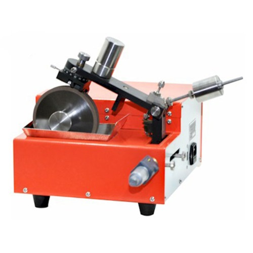 "Low Speed Diamond Saw with Dual 4"" Cutting Blades for Cylindrical Battery Failure Analysis - SYJ-150-BC"