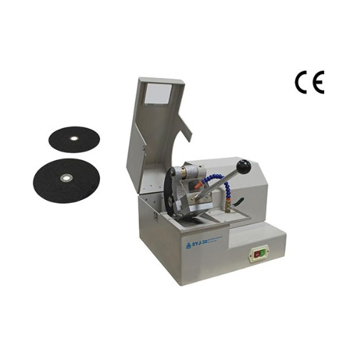 "Heavy Duty High Speed Abrasive Cut-off Saw with two 10"" SiC cutting blades - SYJ-30"