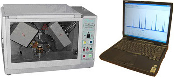 Precision Mini X-Ray Diffractometer with Software & Laptop Computer - EQ-MD-10-LD
