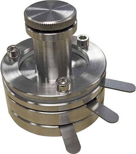 Stainless Steel Three-Electrode Split Test Cell for R&D Battery - 15 mm Diameter Cell - EQ-3ESTC15