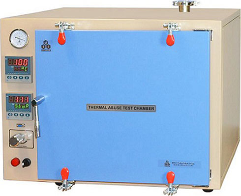 Thermal Abuse Test Chamber (51 L)with Two Digital Temperature Controller for IEC 62133-8.3.4 - EQ-TA-6050