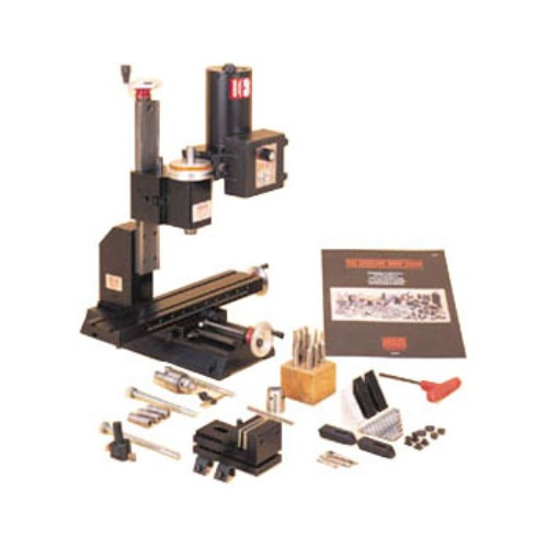 Precision Desktop Vertical Milling Machine with Full Accessories - EQ-SL5400-Milling-LD